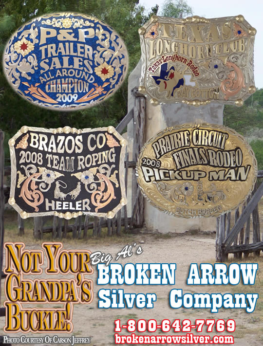 Not Your Grandpa's Buckles from Broken Arrow Silver Company