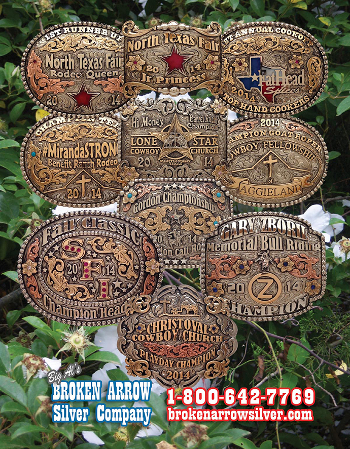 Broken Arrow Silver Company for your Rodeo Awards & Prizes
